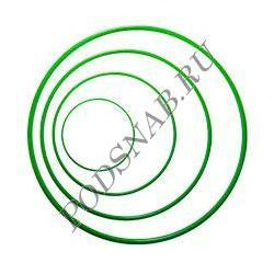 Кольцо промышленное силиконовое 008-012-25