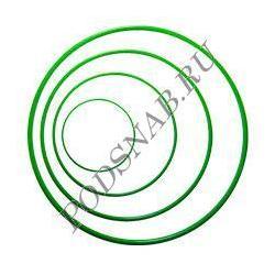 Кольцо промышленное силиконовое 005-008-19